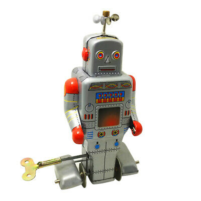 Educational Classical Robot Style Clockwork Tin Toy Intelligent Present Gift