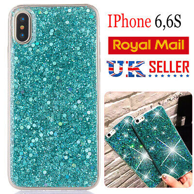 For iPhone Luxury Bling Shockproof Glitter Soft Silicone Sparkle 6,S case Cover