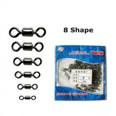 Rolling Snap Link Swivels  Quick Rig Coarse Sea Game Fishing Tackle J