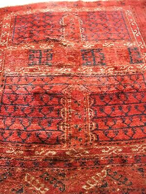 Old Afghan Tribal Ersari Hatchlu Rug Stammes Teppich Afghanistan Tappeto Vecchio
