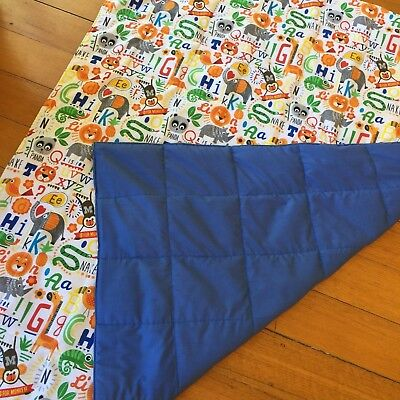 100cm x 55cm Weighted Blankets, Free Shipping, Sensory Therapy Autism, ADHD