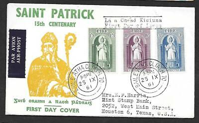1961      Fdc         Patrician Year        Illustrated