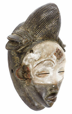 Punu Maiden Spirit Mask Mukudji Gabon African Art SALE WAS $235.00
