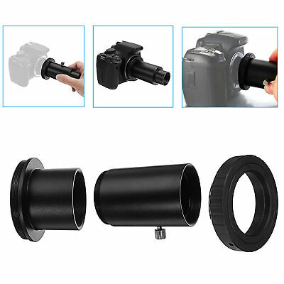 "Telescope Camera Mount Adapter 1.25"" inch Extension Tube T Ring for Canon EOS AU"