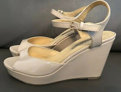 super popular 75610 ca6f4 BUFFALO SCHUHE DAMEN Pumps Lackleder Gr 40 Keilabsatz Sandalen super Zustand