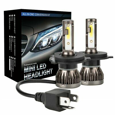 CREE H4 LED Headlight Kit Light Bulbs Hi/Lo Beam 6000K 9003 HB2 1800W 270000LM