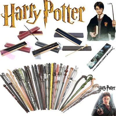 Harry Potter Magic Wand Gift Dumbledore in Box Tonks Ginny Sticks Props Hermione