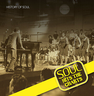 Soul Music Hits The Charts 1955-1962 - History of Soul 2CD New