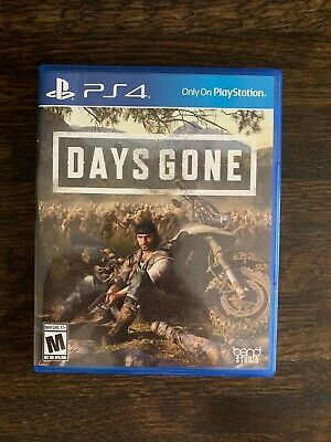 Days Gone - Playstation 4 Exclusive - PS4 - Free Shipping