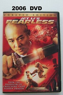 Jet Li Fearless 2006 DVD Martial Arts Fight Scenes Yuen Wo Ping