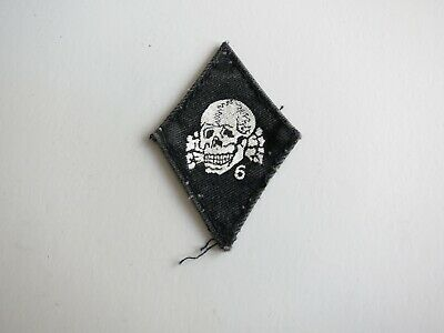 Death In June Patch Black with White Print