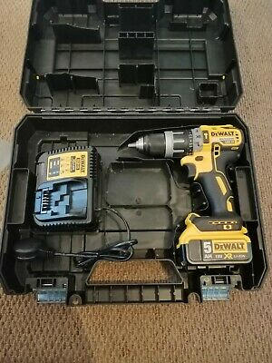 DeWalt XR DCD796 18v Li-Ion Brushless combi Drill with 5ah battery and charger