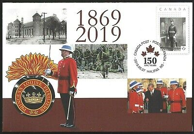 Canada  Special Event Cover  PRINCESS LOUISE FUSILIERS      New 2019 Unaddressed