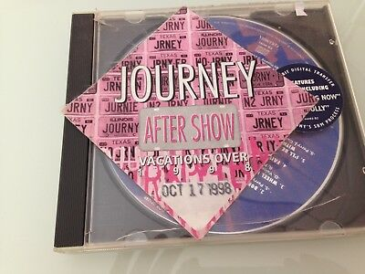 Journey CD Greatest Hits autographed by the Band Members