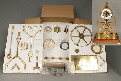 "Complete Skeleton Clock Kit ""French Great Wheel Timepiece"" By Classic Clock Kits"