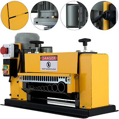 Powered Wire Stripping Machine 1-38mm 10 Blades Peeler Peeling Metal Cable