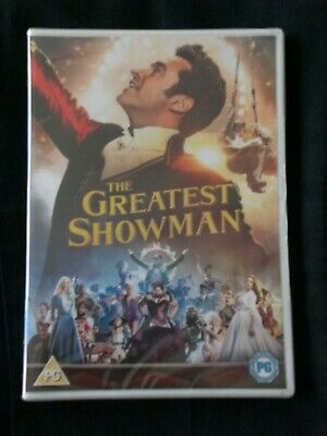 NEW & SEALED The Greatest Showman DVD Hugh Jackman / Zac Efron