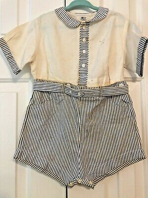 Vintage Toddler Playsuit 1950 Peter Polly Togs