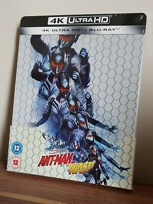 Marvel Ant-Man And The Wasp 4k UHD & Blu-ray Steelbook *SEALED*