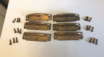 Lot Of 6 Vintage - Antique  Window Handle Lifts