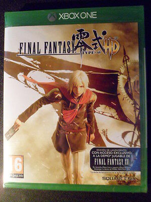 Final Fantasy Type-0 HD Xbox One Nuevo Acción PAL España Playable in english
