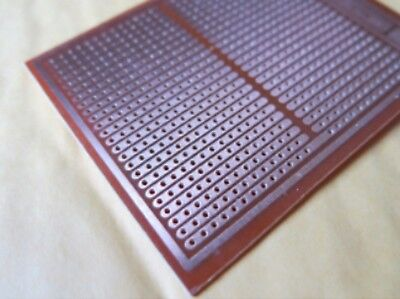 9x7 cm PCB Veroboard Prototype Stripboard Strip Vero Board breadboard 2.54 gap A
