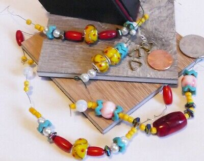 MODS NECKLACE BUILDERS Rio Carnaval: You build. 5 Necklace sections & earrings