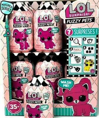 4 - FUZZY PETS! LOL SURPRISE! Makeover Series 5 - WASH ME! Sealed Ready To Ship