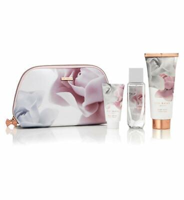 Ted Baker Pretty Pearly Treats Toiletries Bag & Say It With Flowers Ladies Gifts