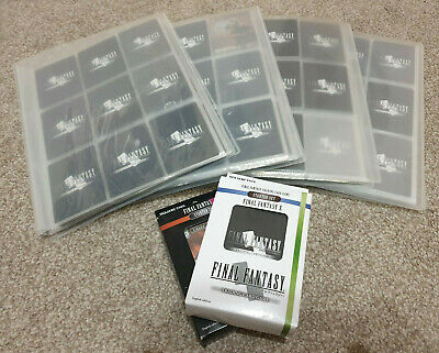 Final Fantasy Trading Card Game lot Opus 1-4 over 800 cards (40 Foil)