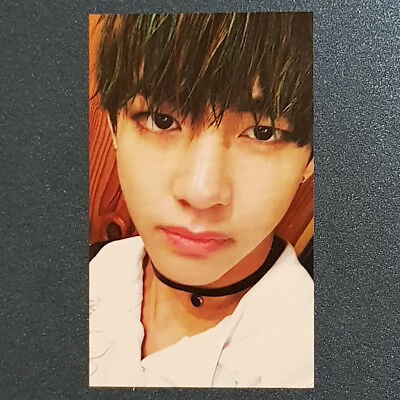 V - Official Photocard 4th Album in the mood for Love part 2. BTS Kpop