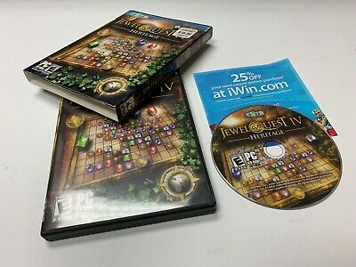 JEWEL QUEST IV Heritage 4 PC Games Windows 10 8 7 XP