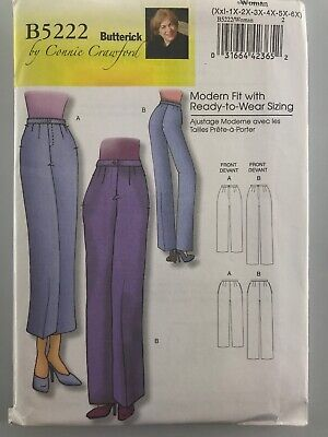 18baef39411 Butterick Sewing Pattern New B5222 Misses/Petite's Pants by Connie Crawford