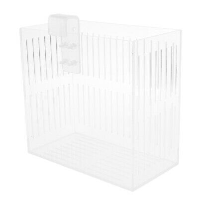 L Fish Tank Hatchery Incubator Box Acrylic Isolation Divider Hatching Box