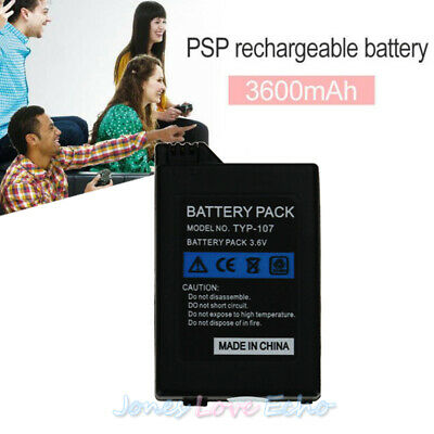 3600mAh Rechargeable Replacement Battery for Sony PSP 2000 2001 1000 3000 Series