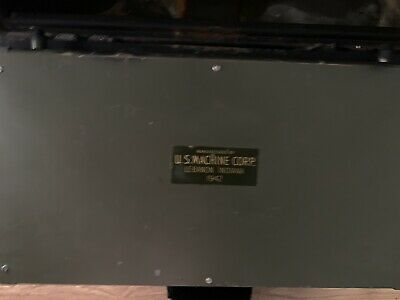 1942 us machine corp safe With Original Keys (2) made in lebanon IN
