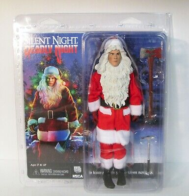"""Silent Night Deadly Night Billy 8"""" Clothed Action Figure NECA"""