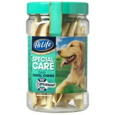 HiLife Daily 12s Tub Spearmint Dental Dog Chews (Tub Of 12) (BT445)