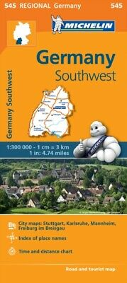 Michelin Map Of Germany.Michelin Map Of Germany Central East Mitte Ost Michelin Map 418