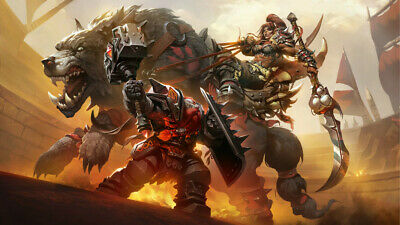 Video Game  Warcraft III Reforged Poster 24 X 14 inch