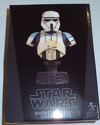 Gentle Giant Star Wars Rogue One Shoretrooper Classic Bust MIB $28