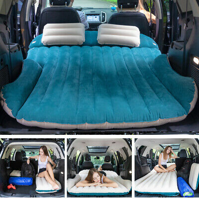 SUV Inflatable Mattress Travel Car Back Seat Air Bed Durable Camping Sleeping