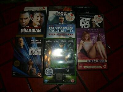 BUNDLE OF DVD'S (10) GENERAL FAMILY VIEWING good condition