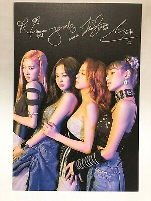 Blackpink Official Kill This Love Special Reservation Photo Post Card Kpop Yg