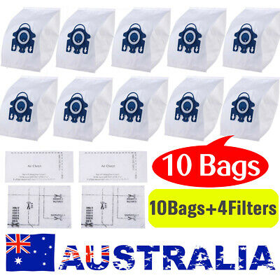 10 Vacuum Cleaner Bag Fit Miele 3D GN Hyclean COMPLETE C3 S2 S5 S8 S5210 S8310