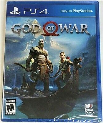 God of War  (Sony PlayStation 4, 2018) Brand New Sealed PS4