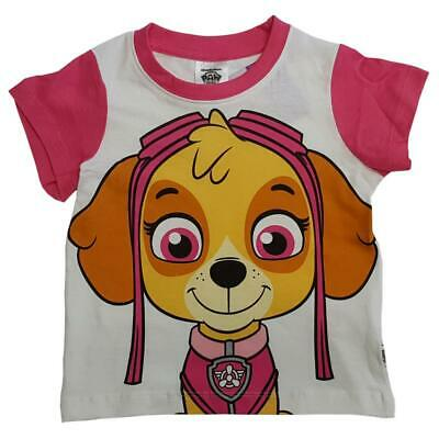 Official Paw Patrol Girls Top Skye T-shirt Sizes Age 2 to 7 years Brand NEW Gift