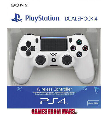 SONY PS4 DUALSHOCK 4 V2 BIANCO NUOVO / Controller Joypad Wireless Glacier White