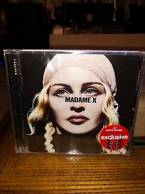 Madonna Madame X Deluxe 2019 Cd Target Exclusive W 2 Bonus Tracks Pop Rock