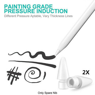 2X Replacement Nibs Tips for Apple Pencil 1st & 2nd Generation 100% Original